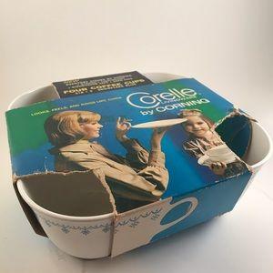 NWOT Corelle teacups